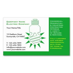 Earth Friendly Business Card | Business cards and Green business