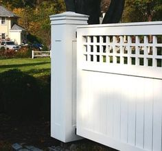 Driveway Gates but I want a fence like this