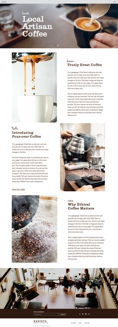 Coffee House Website Template