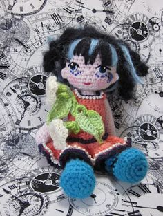 By Hook, By Hand: Painting with crochet