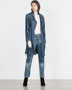 TRENCH COAT WITH BELT AND BUCKLE-Collection-WOMAN-SALE | ZARA United States