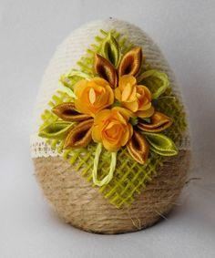 Egg Crafts, Easter Crafts, String Balloons, Egg Art, Egg Decorating, Flower Crafts, Easter Baskets, Happy Easter, Easter Eggs
