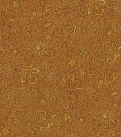 Upholstery Fabric-Waverly Parlour Paisley/Gingersnap