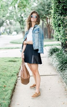 denim jacket outfit,