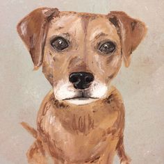 Personalized Pet Portrait by brittanytoon on Etsy