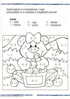 The complete book of MATH grades – U. Math Addition, Addition And Subtraction, Preschool Worksheets, Preschool Activities, Kids Study, Basic Math, 1st Grade Math, Grade 1, Free Math