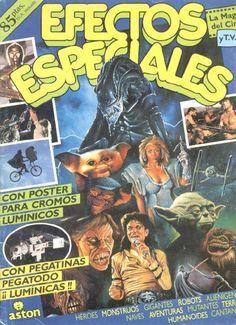 Efectos especiales- Álbum de cromos publicado en 1988 por Aston