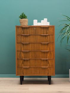 Retro Chest Of Drawers 60 70 Vintage Dressers, Chest Of Drawers, Scandinavian Design, Cabinets, Minimalist, Surface, Shelves, Key, Retro
