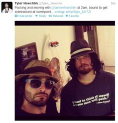 Tyler Hoechlin and his lil bro Tanner