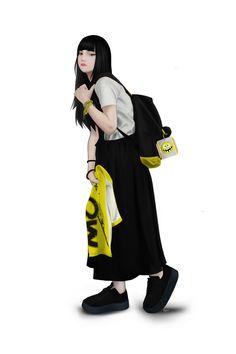 lazy girl Female, Digital Art, Girls Illustration, Illustration, Art Girl, Photoshop, Art, Anime, Digital Art Girl