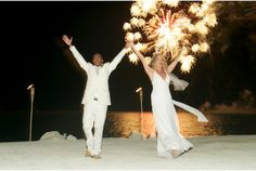 Islamorada Wedding at Coconut cove Resort & Marina. Photo courtesy by you look nice today. Fireworks by Keys Fireworks www.coconutcove.net #Islamoradawedding