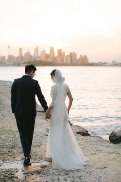 French photographer specialised in natural stylish wedding photography in Sydney and Paris Sydney Wedding, Wedding Beach, Engagement Shoots, Wedding Engagement, French Photographers, Wedding Photos, White Dress, Wedding Inspiration, Wedding Photography