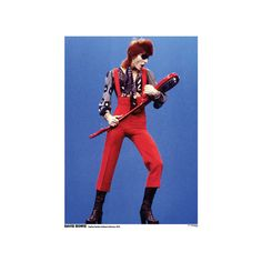 David Bowie- Holland 1974 Poster (€9,17) ❤ liked on Polyvore featuring home, home decor, wall art, music posters, rock posters, rock music posters, music wall art and music home decor
