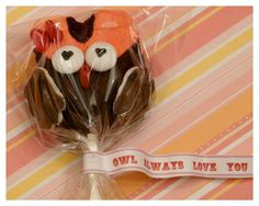 *Rook No. 17: recipes, crafts & whimsies for spreading joy*: OWL VALENTINE TREATS -- Whoooo do you love?