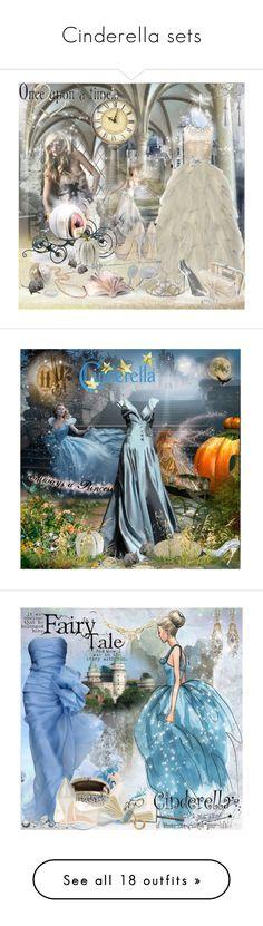 """Cinderella sets"" by prettyasapicture ❤ liked on Polyvore featuring Oscar de la Renta, Coach, Carolee LUX, Torrini, Julia Cocco', TIARA, Amrita Singh, Finesse, Jimmy Choo and David Beckham"