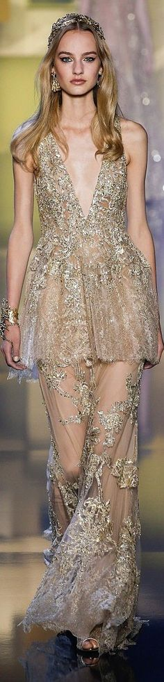 Elie Saab fall winter 2015/16 couture