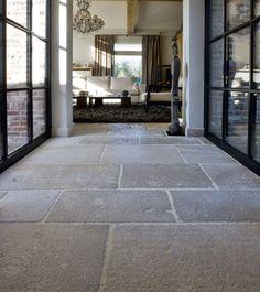 Franse kalksteen vloertegels | Bourgondische dallen