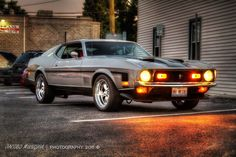 '71 Mustang Mach 1 the picture of this car hung in my family garage for years. I wanted one so bad. Never got it.