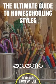 Eclectic homeschooling - The Ultimate Guide to Homeschooling Styles from Fearless Homeschool Homeschool High School, Homeschool Curriculum, Single Parenting, Parenting Advice, How To Start Homeschooling, Reggio Emilia, Home Schooling, Kids Education, Montessori