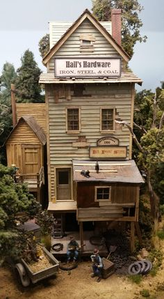 Your Quick Guide To Model Railroad Layout Kits Model Train Layouts, Miniature Houses, Paper Models, Model Building, Layout Inspiration, Small World, Model Trains, Scale Models, Scene