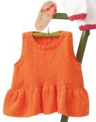 Revista bebé 68 Primavera / Verano | 48: Bebé Vestido | Naranja