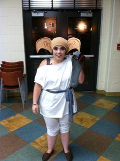 Dobby the House Elf costume: harry potter halloween costumes