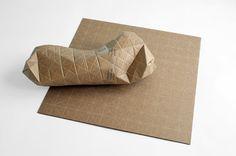 My Eco House!: Умные картонные листы Патрика Санга (Patrick Sung) могут принимать любую форму упаковки