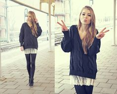 Central station (by Rachella K.) http://lookbook.nu/look/4310501-Central-station