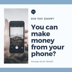 I'm looking to help 3 people learn how to make money from their phone. Earn Money From Home, How To Make Money, It Works Distributor, Wellness Company, Phone Messages, In A Nutshell, Mom Advice, Live For Yourself, Blockchain