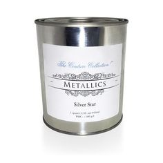 Take your projects to the next level with Metallic Paints! You can use Metallic Paints to highlight furniture details,you can use them with stencils and you can Paint Couture, Industrial Style Furniture, Silver Metallic Paint, Painted Furniture, Furniture, Furniture Details, Metallic Paint, Metal, Cool Furniture