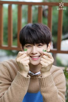 ASTRO | EunWoo I think he's so cute but it's kinda awkward saying that when he's younger than I am...