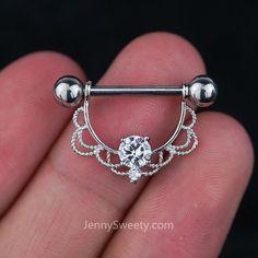 1 Piece Lace Zircon Nipple Ring Nipple Barbells Nipple Jewelry Nipple Piercing #Piercing #HelixEarring #PiercedGirls #NavelRing #CartilagePiercing #Pierced #NoseRing #BodyPiercingJewelry #BodyArt #CartilageEarring