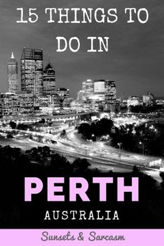 15 fun things to do in Perth, Australia! Discover the best Perth beaches, nightlife, bars, Kings Park and day trips such as Rottnest Island and Fremantle. Moving To Australia, Australia Travel, Australia 2018, Visit Australia, Stuff To Do, Things To Do, Australian Road Trip, Australian Photography, Perth Western Australia