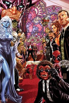 Deadpool's Wedding by Mark Brooks