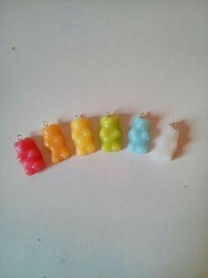 Gummy bear in polymer clay