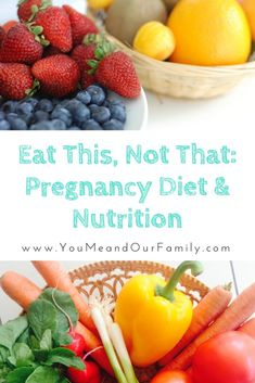 Have you ever wondered what to eat while pregnant? What will help your baby and you grow strong? This guide shares science based information about what to eat during pregnancy, what to avoid, and about proper weight gain while pregnant. Pregnancy Workout, Pregnancy Tips, Pregnancy Fitness, Pregnancy Information, Pregnancy Nutrition, Pregnancy Health, Prenatal Vitamins, Pregnant Diet, Exercise While Pregnant