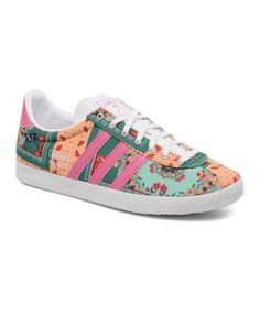 new style ba90d 951dc Womens Adidas Gazelle Farm Pastel Flower Trainer This ladies fashion shoes,  has been a great
