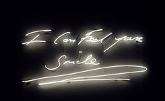 Tracey Emin...I can feel your smile ...1963