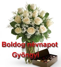 Boldog névnapot Gyöngyi - Megaport Media Share Pictures, Animated Gifs, Floral Wreath, Happy Birthday, Table Decorations, Facebook, Happy Aniversary, Flower Crown, Happy Brithday