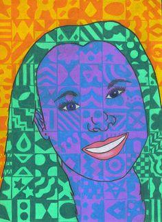 The smARTteacher Resource: Chuck Close Portraits