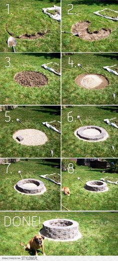 Amazing Fire Pit The Low Rider, DIY Fire Pits: Amazing DIY Outdoor Fire Pit Ideas You Must See - Decorextra Fire pits are a great addition to your garden. Take a look at these amazing DIY fire pit ideas! Diy Fire Pit, Fire Pit Backyard, How To Build A Fire Pit, Backyard Patio, Diy Patio, Gravel Patio, Backyard Seating, Outdoor Fire Pits, Modern Backyard