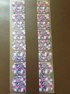 Ditsy Floral Jamberry Nail Wraps