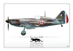 FRENCH AIR FORCE (WW2) . ARMÈE DE L'AIR Escadrille 2Groupe de Chasse II/7 Sidi Ahmed, Tunisie, fin 1941