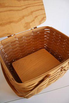Longaberger Picnic Basket