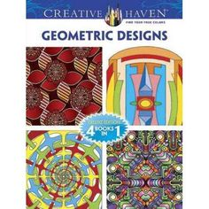 Geometric Designs Adult Coloring Book