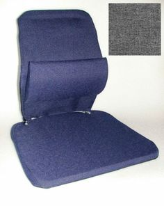 Car Seat Support Systems - Pin it :-) Follow us :-)).. CLICK IMAGE TWICE for Pricing and Info :) SEE A LARGER SELECTION of car seat support system  at  http://zcarseatcushions.com/product-category/car-seat-support-systems/ -  car, upholstery - ZB McCarty's Sacro Ease Trimet Bus, Taxi, Truck Seat Support Cushion GREY
