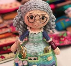 You will love this Crafter Granny Crochet Doll and it's a fabulous free pattern. Get the details now and whip one up today.