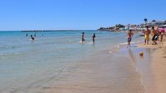 Beach near Rome of Santa Marinella -- 1 hr from rome, direct train route from where we're staying