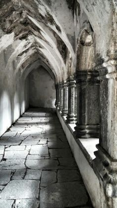 Muckross Abbey, Killarney. Co Kerry. Ireland