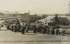 Puerto de Mar del Plata, Octubre de 1951 - Haynes Publishing Company Archive //Programa Archivos en Peligro - Biblioteca Británica // Endangered Archives Program -British Library